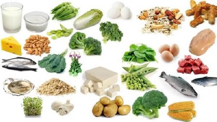 Chế độ ăn uống cân bằng giúp tăng cơ bắp