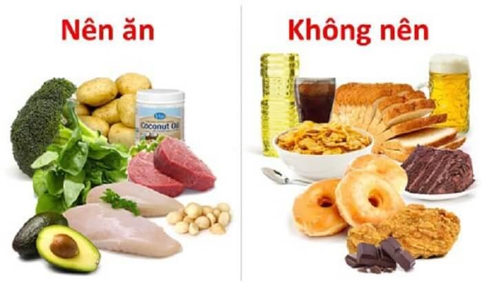 Cần chú ý chế độ ăn uống hợp lý